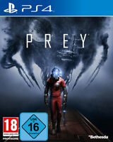PS4 Prey 100% UNCUT NEU&OVP + Cosmonaut Shotgun Pack Playstation 4