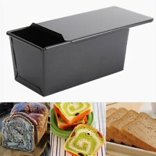 Rectangle Non-stick Box Loaf Tin Kitchen Pastry Bread Cake Baking Bakeware AU~