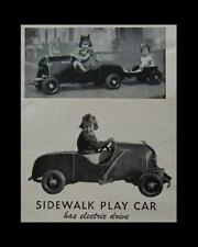 1952 Roadster Sidewalk Car Battery Powered How-To build Plans