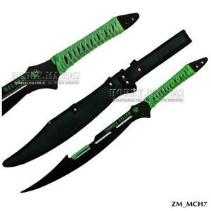 Zombie Killer Full Tang Green Machete