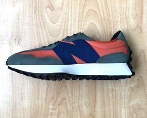 New Balance Lifestyle Dark Blaze Green Blue Running Shoes MS327TB Men Sz 11 NEW