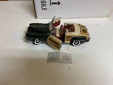 Franklin Mint 1:24 Precision Models 1948 CHRYSLER TOWN AND COUNTRY With Box