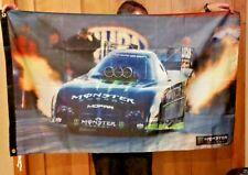 Monster Energy Drink NHRA Sign Flag Banner Poster Tommy Johnson Jr. Dragster