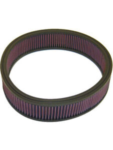 K&N Round Air Filter FOR PLYMOUTH FURY III 440 V8 CARB (E-1530)