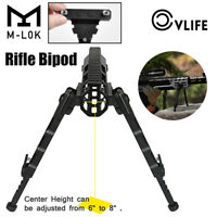 "CVLIFE M-LOK Rifle Bipod, Leg Height 7.5-9 Inches, Center Height 6"" - 8"""