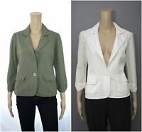 ex Dorothy Perkins DP Broderie Anglasis Lined Summer Occasion Casual Blazer