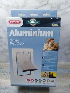 Petsafe Staywell Aluminum Pet Door  / Pet Flap Size Small / Dog / Cat