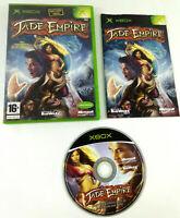 Jeu XBOX VF  Jade Empire  avec notice  Envoi rapide et suivi