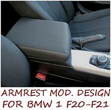 Armrest for BMW 1 F20 - F21 DESIGN premium - MADE IN ITALY - mittelarmlehne