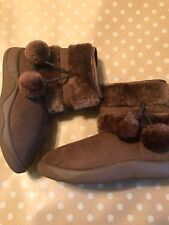 NWT Youth ~Brown Boots~Zipper~Must Haves SZ 1