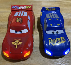 Disney Cars Sound And Light lightning mcqueen And Febulous