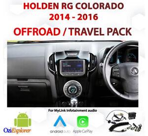 Holden Colorado 2014 - 2016 Offroad / Street Navigation & Camera upgrade pack