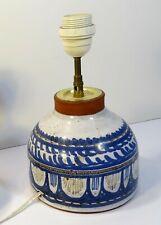 Michel Barbier Vallauris - Lampe céramique année 70