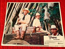 Tarzan the Ape Man 1981 MGM lobby card Richard Harris Bo Derek John Phillip Law