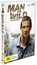Man Vs Wild - Forces Of Nature : Season 3 (DVD, 2009, 2-Disc Set), NEW SEALED R4