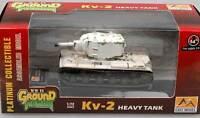 Easy Model KV-2 Russian Army White Winter Tank Tank 1:72 Finshed Model Diecast