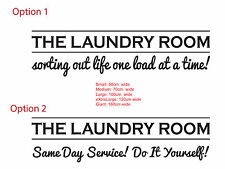 The Laundry Room Sorting out Life Same Day Service Vinyl Sign Decal Sticker