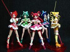 Yes! Pretty Cure 5 Go Go Dream Mint Rouge Aqua SHF S.H.Figuarts Figure Set Japan