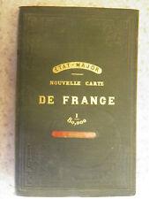 Nouvelle carte de France état-major Beauvais / E. Andriveau-Goujon / 1864