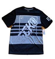 NWT Ecko Unltd Black & Gray Big Logo Graphic T-Shirt Men's Size Small