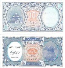 Lote de 5 Billetes de 10 Piastras de Egipto