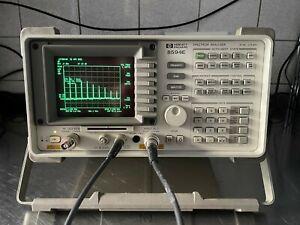HP Agilent 8594E  9Khz-2,9Ghz Spectrum Analyzer Track +Ocxo 6 Mon Gar  lesen