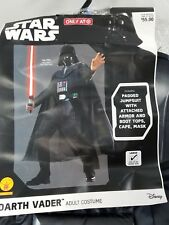 Disney Star Wars Darth Vader Halloween Costume Adult Size L Cosplay Dress Up G