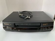 New listing Panasonic Pv-8400 Omnivision 4 Head Vhs Vcr Player Recorder No Remote