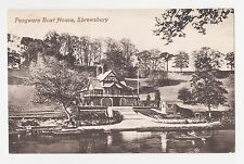 Shrewsbury,U.K.Pengwern Boat House,Shropshire,West Midlands,Used,Shrewsbury,1910