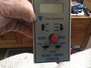 time electronics calibrator 1044 Voltage Current Calibrator