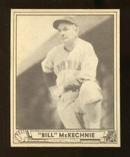 "1940 Play Ball ""BILL"" McKECHNIE Baseball Card #153 EX No Creases (JO239)"
