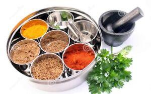 Spice Container Box,Spice Container Masala Dabba Airtight 7 box + 1spoon