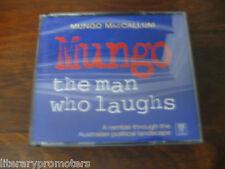 MUNGO THE MAN WHO LAUGHS MACCALLUM Audio Book 3 CD's Ramble Australian Political