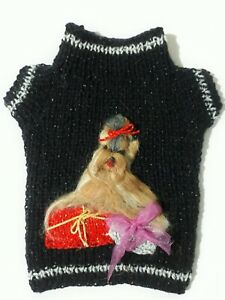 Pet Dog,Clothes, Sweater For Small Dogs, Yorkie - Hand Knitted