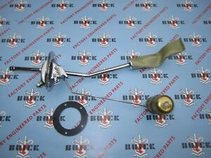 1958 Buick Gas Tank Sending Unit with Strainer Sock. OEM #5640312.