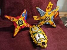 Power Rangers Red Star, Yellow star, Mega Force Battle Morphers (Lot of 3)