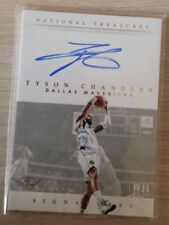 2014-15 Panini National Treasures Signatures Gold Proof #STC Tyson Chandler/25