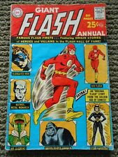 The Flash Annual #1 from 1963 Giant Edition VG