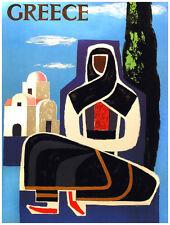 "11x14""Decoration poster.Interior design.Greece.Greek Tourism.Grece art.7044"