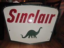 Large Sinclair Porcelain Sign
