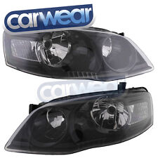 FORD BF '06-'08 BLACK ALTEZZA HEAD LIGHTS BF2 SERIES 2 XT FALCON OEM STYLE PAIR
