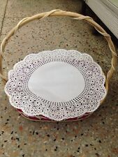 """15.5"""" INCH/50 PCS. CIRCULAR PAPER LACE DOILY FOR PARTY BASKET,BASIN FREESHIP"""