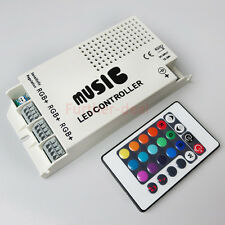 Music Sound Sensor IR Remote Controller Switch For RGB 3528 5050 Led Strip Light