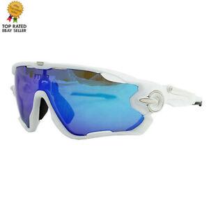 FTIIER Men's 5lens Polarized Cycling Glasses Running Biker Sport Men Sunglasses