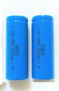 Exell Replacement for BT-LP-18500-8501, LiFePO418500, 18500 Battery (Pack of 2)