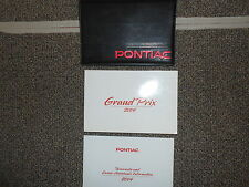 2004 Pontiac Grand Prix owners manual with black case