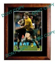 JAMES O'CONNOR WALLABIES STAR RUGBY LARGE A3 PHOTO 1