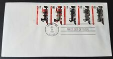 USA 1994 Steam Engine Locomotives Trains Stamp FDC (official issue) 美国蒸汽机火车邮票首日封