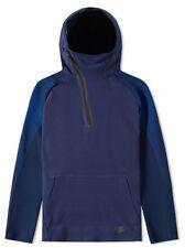 """Nike Sportswear Tech Felpa con Cappuccio in Pile Uomo """"OSSIDIANA"""" (M) 805655 451"""