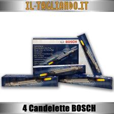 4 Candelette Opel astra H, GTC, SW Opel Zafira 1.9 CDTI 74-88 kw della Bosch 036